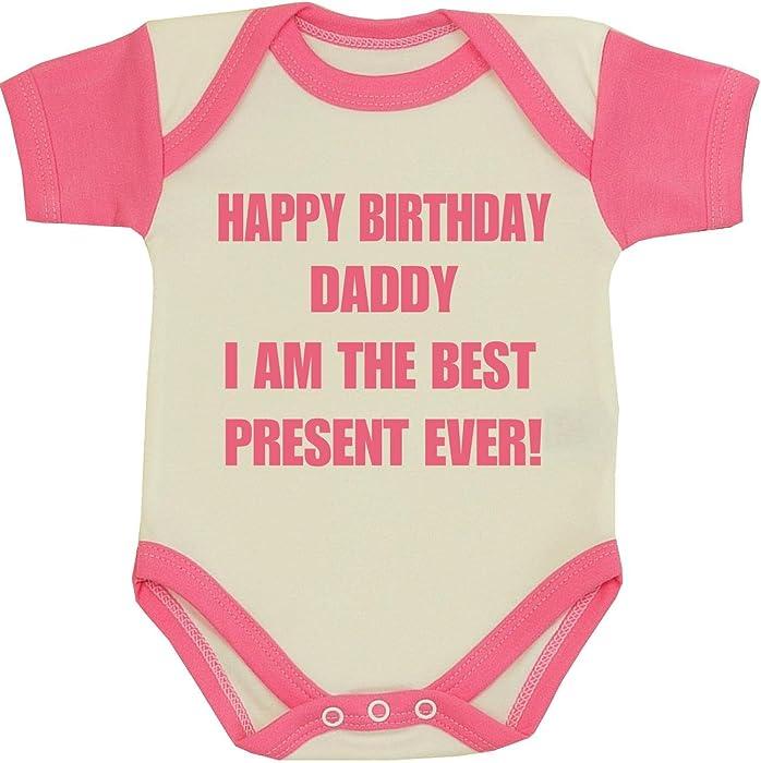 74ec95459771 Amazon.com  BabyPrem Baby Happy Birthday Daddy Best Present Clothes ...