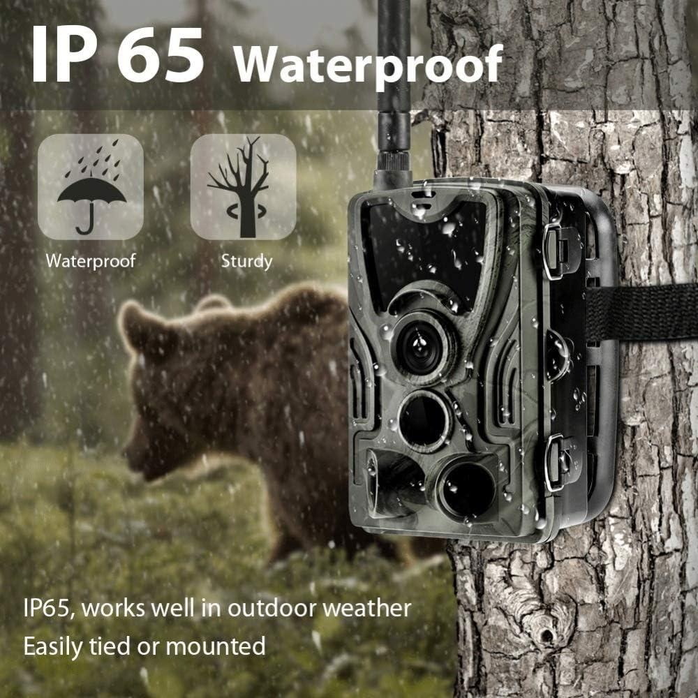 16MP 1080P Hunting Trail Camera 2G MMS Cellular Wireless Wildlife Night Vision .