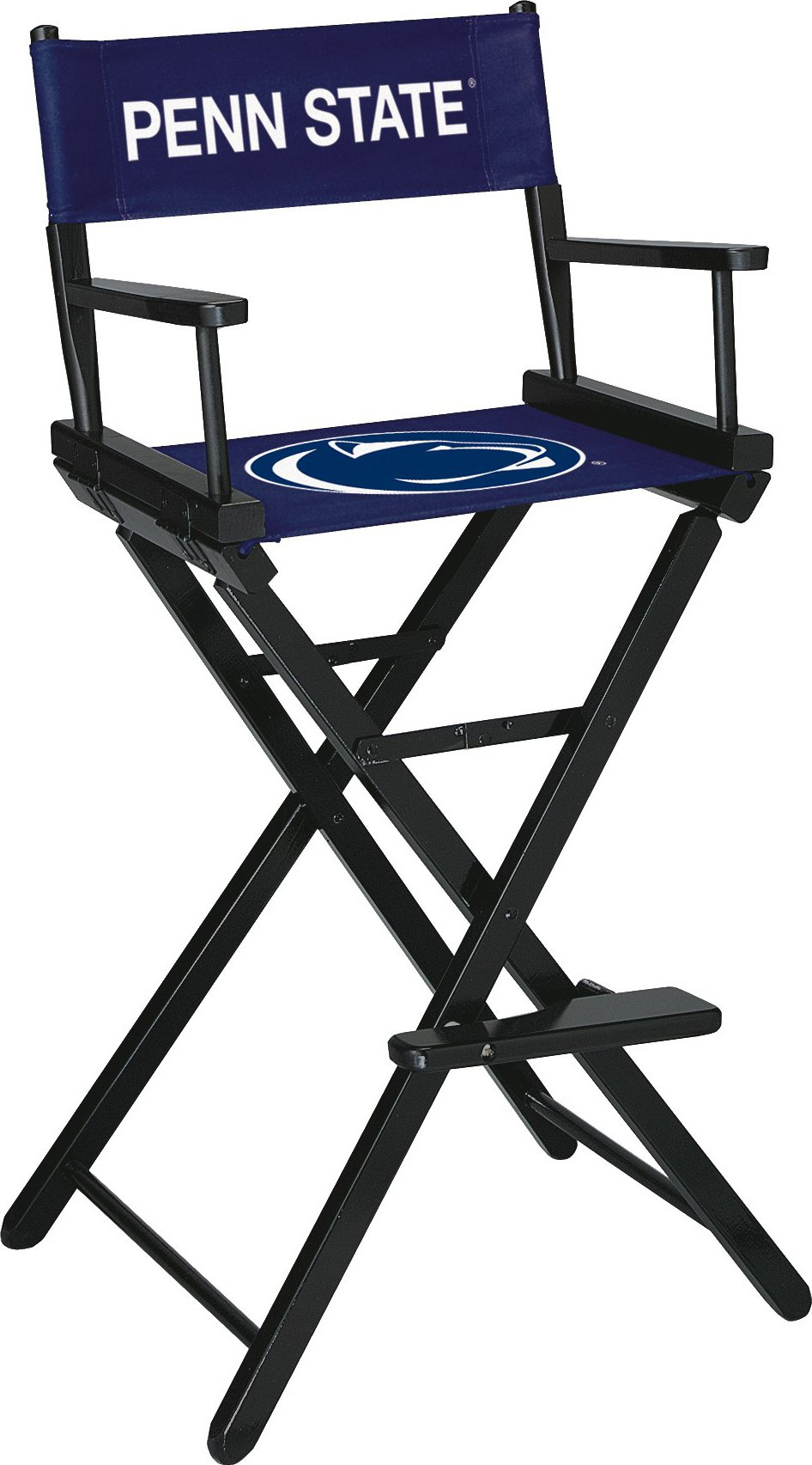 Imperial Officially Licensed NCAA Merchandise: Directors Chair (Tall, Bar Height), Penn State Nittany Lions