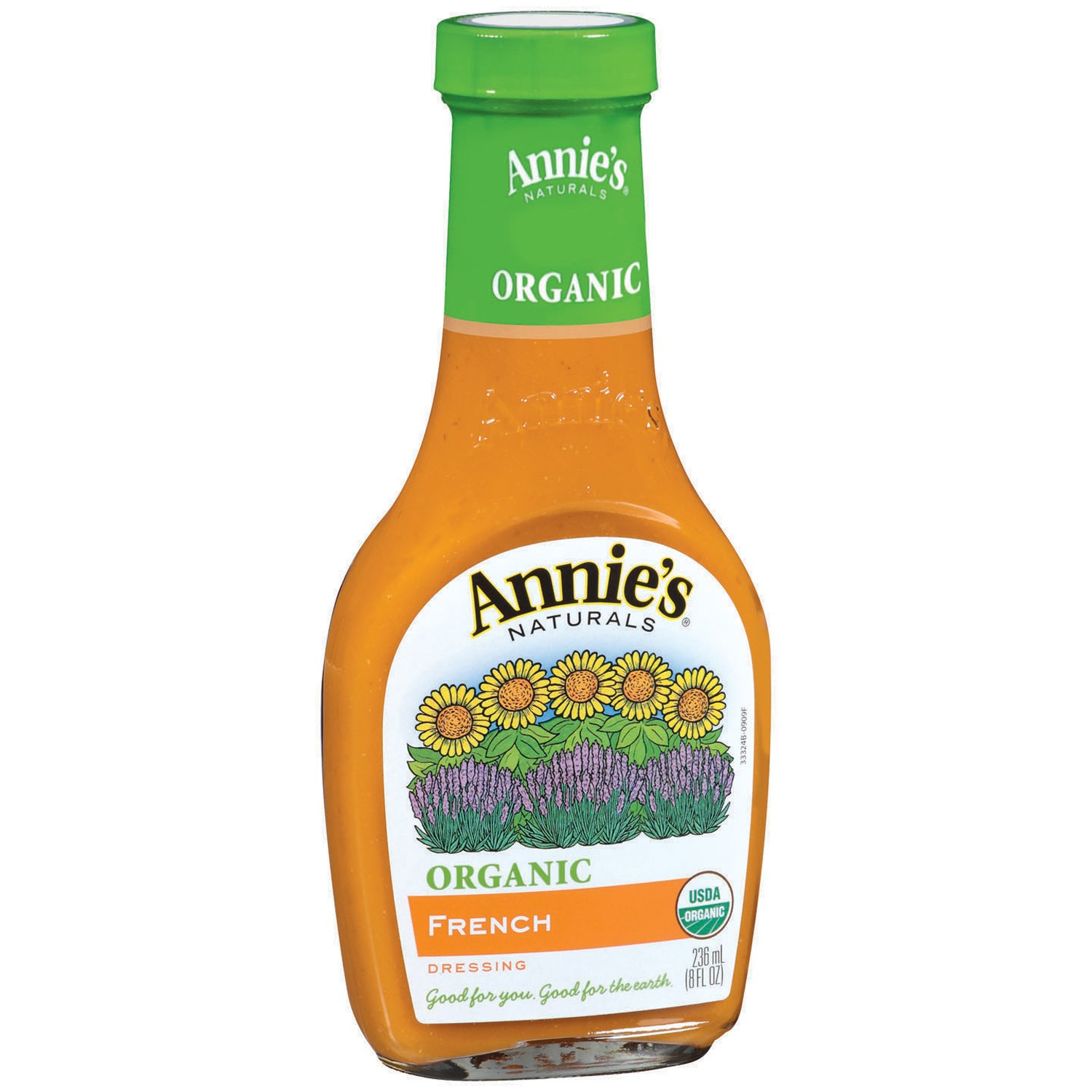 Annie's Organic Gluten Free French Dressing 8 fl oz Bottle