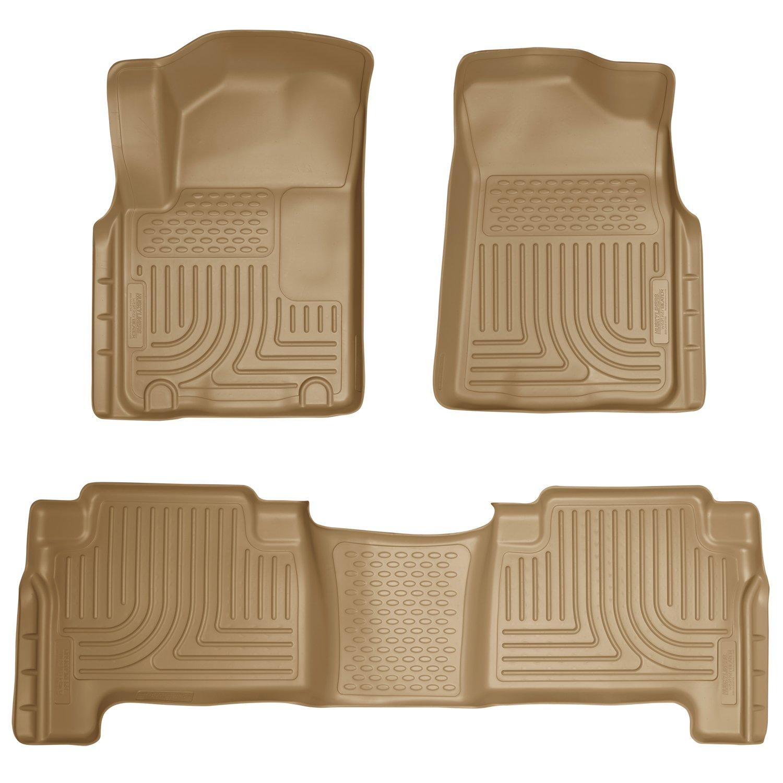 Floor mats qx80 - Amazon Com 2014 Infiniti Qx80 Weatherbeater Floor Mats Liners Husky Tan Front Rear Automotive