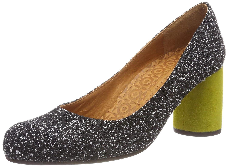 TALLA 39 EU. Chie Mihara Morgan, Zapatos de tacón con Punta Cerrada para Mujer
