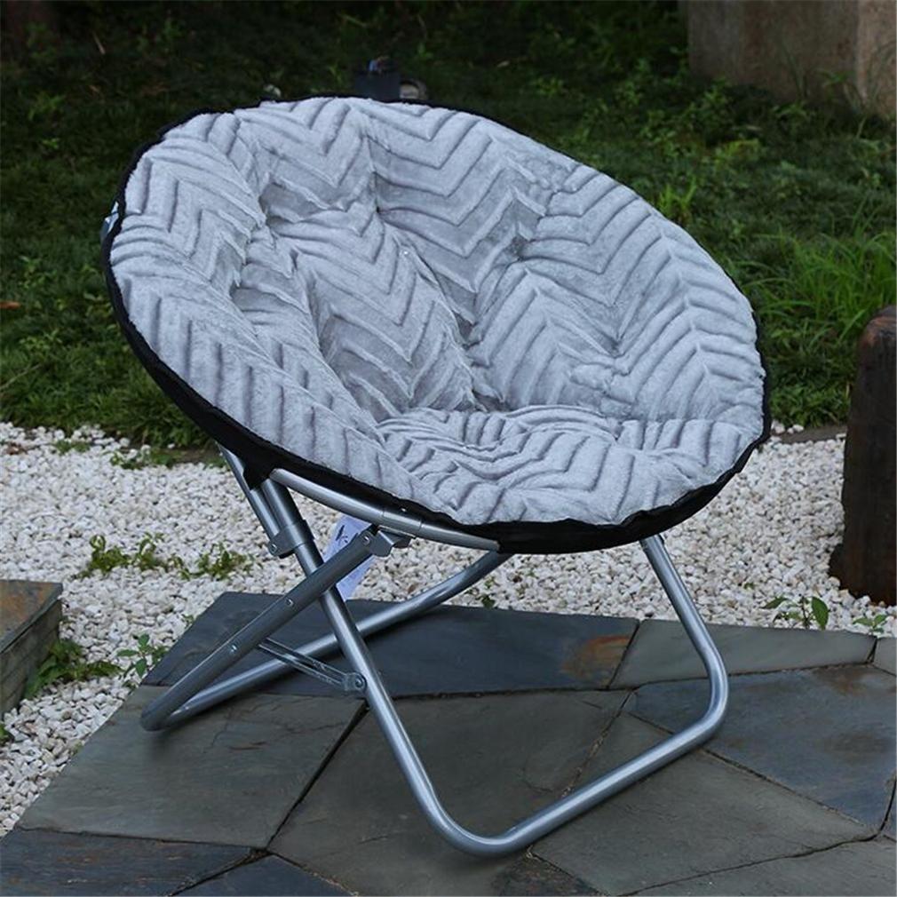 ZHDNG Mond Stuhl Mode Innen/Outdoor Komfortable Klappstuhl