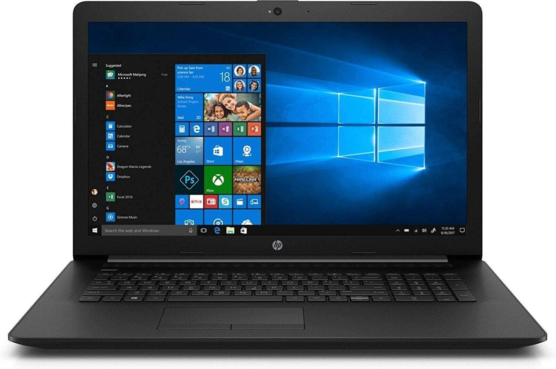 "2020 Newest HP 17.3"" HD+ Premium Laptop Computer, AMD Ryzen 5 3500U 4-Core (Beat i7-7500U ), 12GB RAM, 256GB PCIe SSD, AMD Radeon Vega 8, Bluetooth, WiFi, HDMI, Win 10"