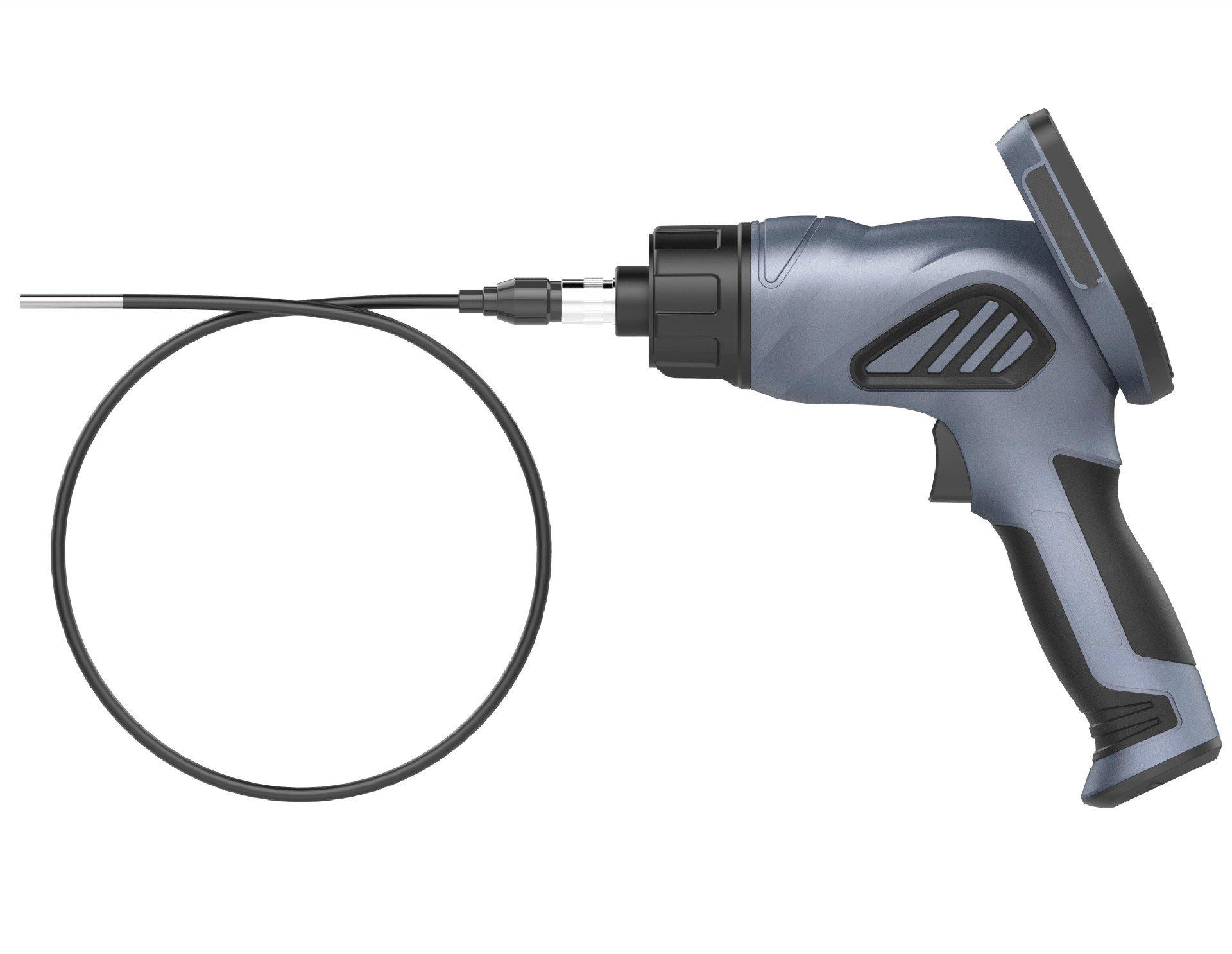 F508S temperature display with temperature control 45 million pixel car endoscope burner cleaning endoscope