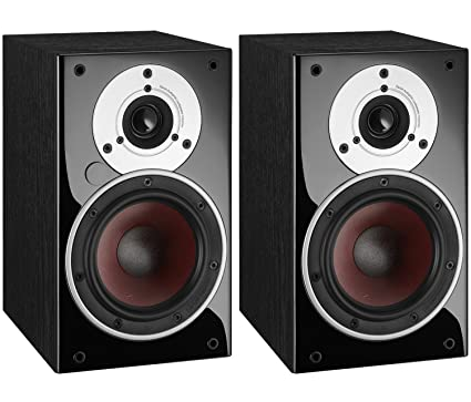 Dali Zensor 1 AX Active Compact Bookshelf Speakers Pair Black Ash