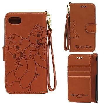 ab5b7bc184 iphone8 iphone7 ケース ディズニー 手帳 かわいい 手帳型 アイフォン8 アイフォン7 ディズニー7 チップ デール