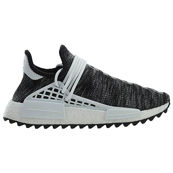 new concept e5faa 48de6 adidas NMD Human Race Trail Pharrell Williams Oreo - Black White Trainer  Size 7 UK  Amazon.co.uk  Shoes   Bags