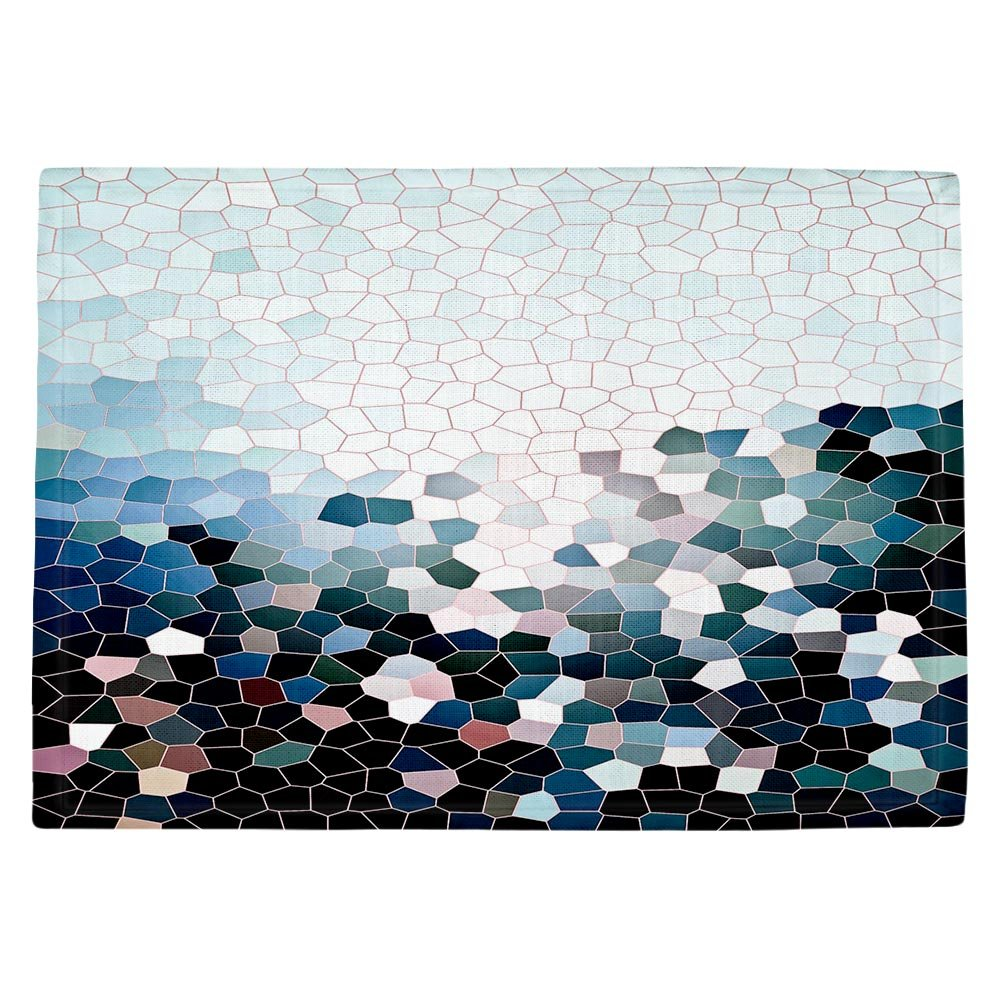 DIANOCHEキッチンPlaceマットby Iris Lehnhardt – Patternization I Set of 4 Placemats PM-IrisLehnhardtPatternizationI2 Set of 4 Placemats  B01EXSGZNK