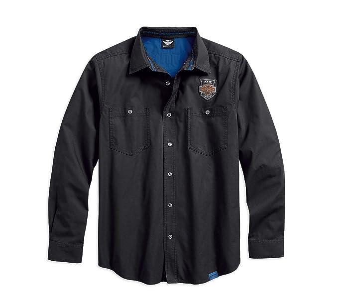 Harley-Davidson - Camisa para Hombre de 115º Aniversario (5 ...