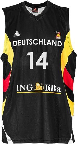 Peak Sport Europe Hombre Dirk Nowitzki Camiseta, Negras, XXS, G ...
