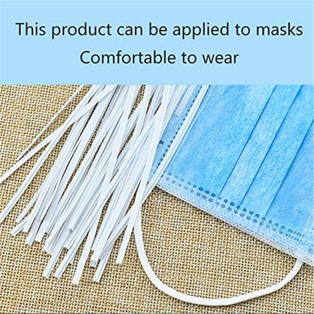 50 pcs//Pack Aluminum Strips Straps Nose Bridge Strip for DIY Handmade Crafting Making Nose Bridge Clip 50