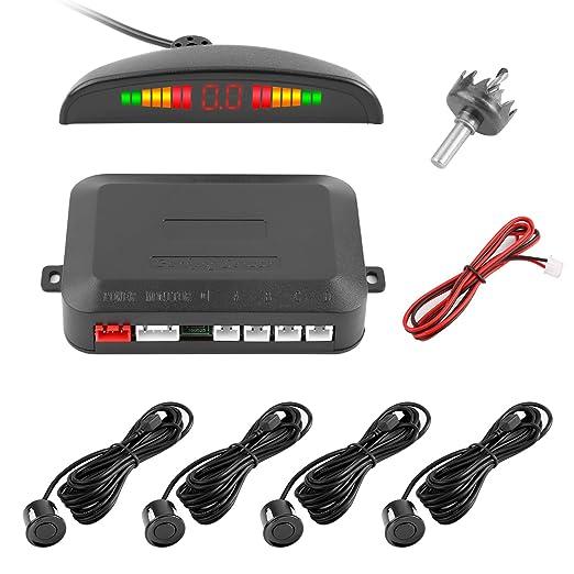 41 opinioni per Sensore di Parcheggio, YOKKAO Car Parking Sensor 4 Kit con Buzzer Allarme e