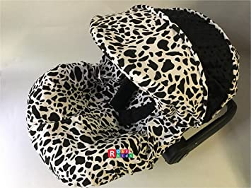 Rosy Kids Infant Carseat Canopy Cover 3pc Whole Caboodle Baby Car Seat Outdoor Kit