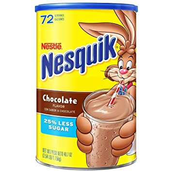 Amazon nestle nesquik chocolate milk drink mix 40 oz pack nestle nesquik chocolate milk drink mix 40 oz pack of 6 sciox Choice Image