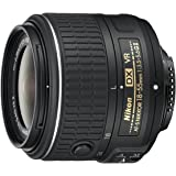Nikon AF-S DX NIKKOR 18-55mm f/3.5-5.6G Vibration Reduction VR II Zoom Lens with Auto Focus for Nikon DSLR Cameras (Certified Refurbished)