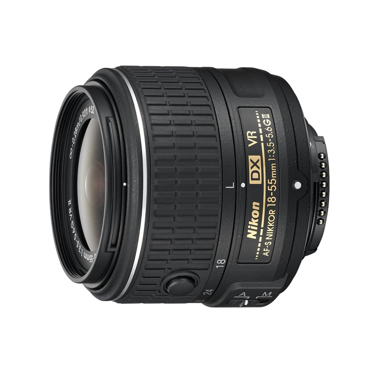 Nikon af-s DX Nikkor 18 – 55 mm f / 3.5 – 5.6 G VR振動削減II自動フォーカスズームレンズfor Nikon DSLRカメラ(認定Refurbished)   B01MXINYSI
