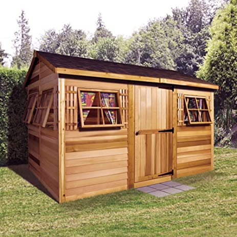 cedar garden shed. Cedar Shed 12 X 8 Ft. Beach House Garden