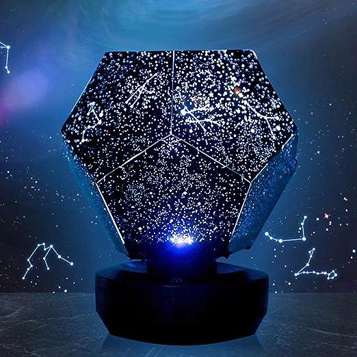 Ltteny LED Starry Night Lamp, Luz de Nocturna LED Lámpara de ...