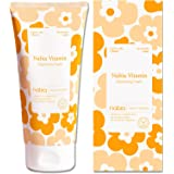 Nabia Plant-based Natural Face Wash with Vitamin C: Gentle and Clean Revitalizing Cleanser, 5.07 Fl Oz