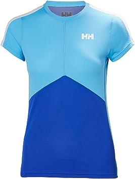 Helly Hansen W HH LIFA Active Light SS Camisa Deportiva, Mujer, Azul (Azul 563), Small (Tamaño del Fabricante:S): Amazon.es: Deportes y aire libre