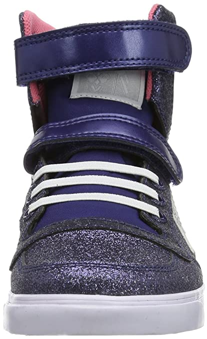 f9ddf6ffc5b hummel HUMMEL SLIM STADIL GLITTER HG 63-648-7429, Unisex-Kinder Sneaker,  Blau (BLUE NIGHTS), EU 37: Amazon.de: Schuhe & Handtaschen