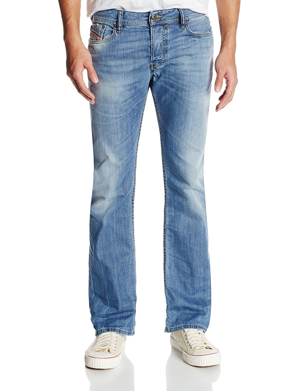 Diesel Men's Jeans New FANKER Slim BOOT Cut Denim 0826D … (27W x 32L)