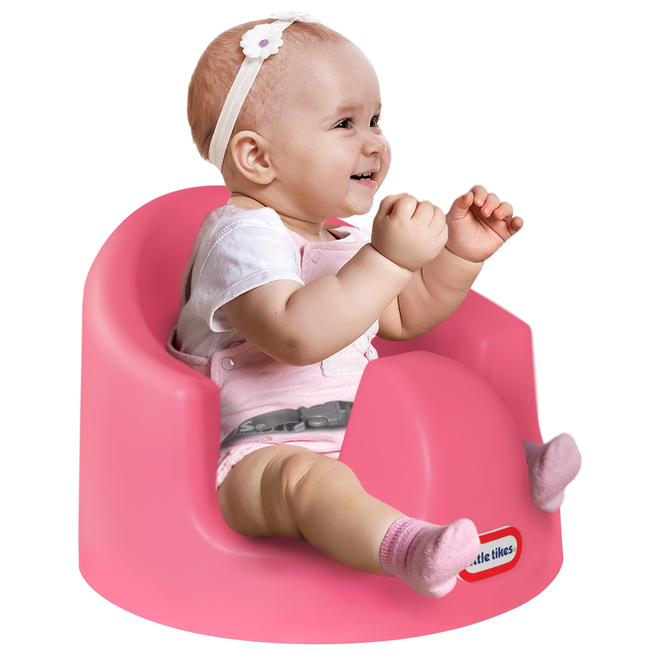 Little Tikes My First Seat Baby Infant Foam Up Right Supporting Floor Seat Pink