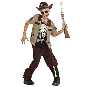 WIDMANN Disfraz Para Niños Zombie Sheriff: Amazon.es: Juguetes y ...