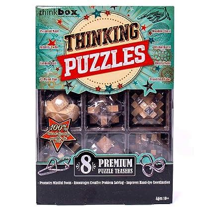 Amazon.com: Think Box Great Brain Challenge, paquete de 8 ...