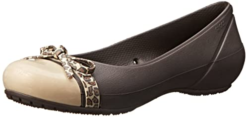 Crocs Women's Brynn W Wedge Sandal, Espresso/Espresso, 7 US/7 M US M US