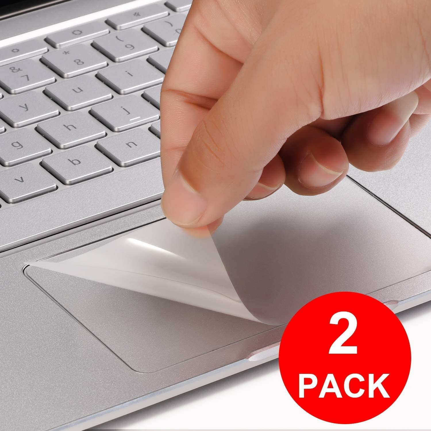 [2 Pack] Lapogy Clear Anti-Scratch Trackpad Protector Touchpad Cover Skin for Google Pixelbook go 13.3 inch 2019,Google Pixelbook go Accessories