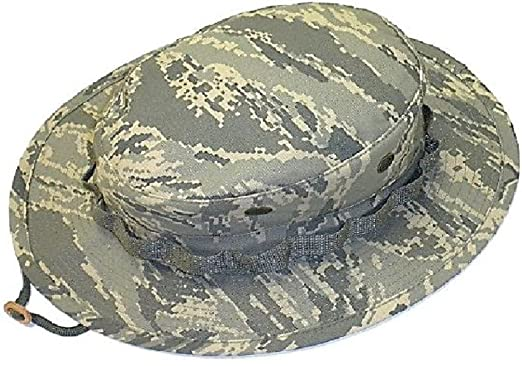 d08db8be54e Amazon.com  Mil Issue Tactical Usaf Tiger Stripe Camouflage Boonie Hat Govt  Contractor  Clothing