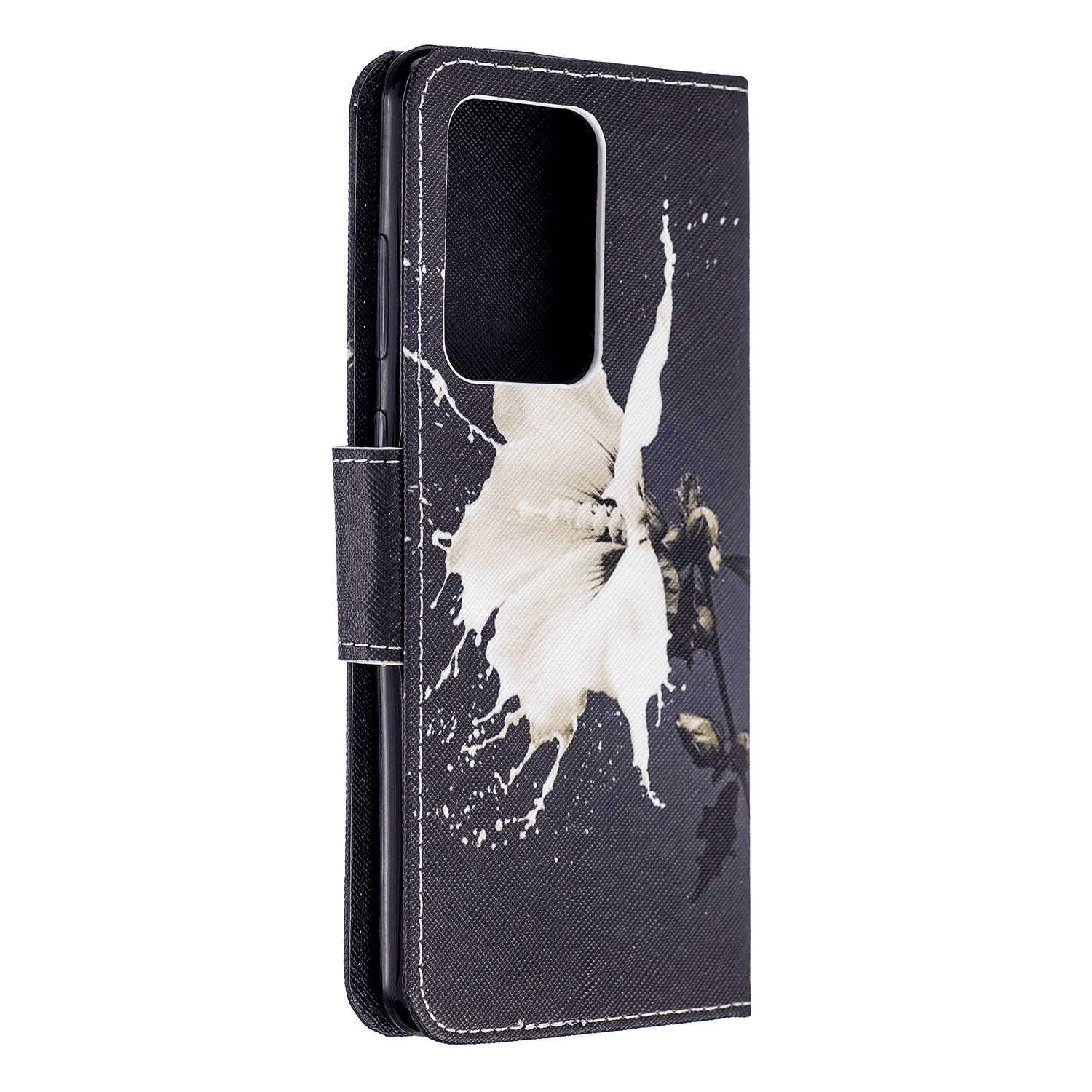 Stylish Cover Compatible with iPhone X owl Leather Flip Case Wallet for iPhone X