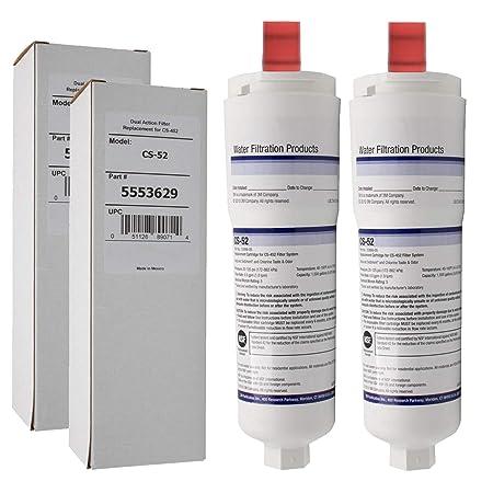 Spares2go 5586605 5586606 tipo filtros de agua para Bosch Nevera ...