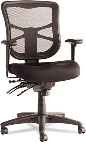 Alera EL42ME10B Alera Elusion Series Mesh Mid-Back Multifunction Chair