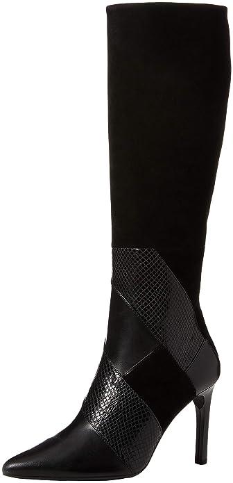 7ef5ae4b Geox D Faviola C, Botas Altas para Mujer: Amazon.es: Zapatos y complementos