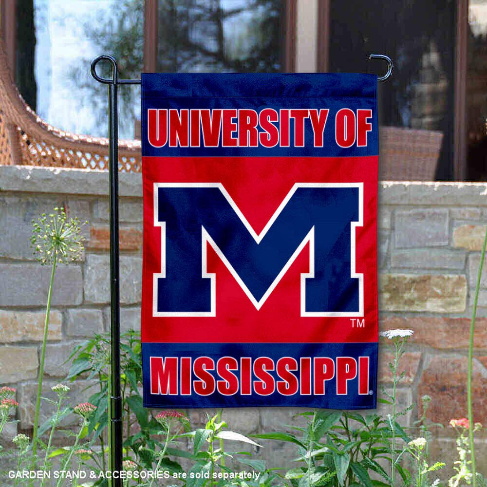 Mississippi Rebels Garden Flag and Yard Banner