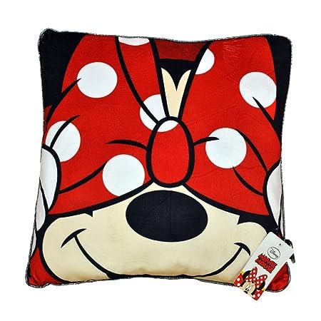 Disney Minnie Cojin, Rojo, 40 x 40 cm
