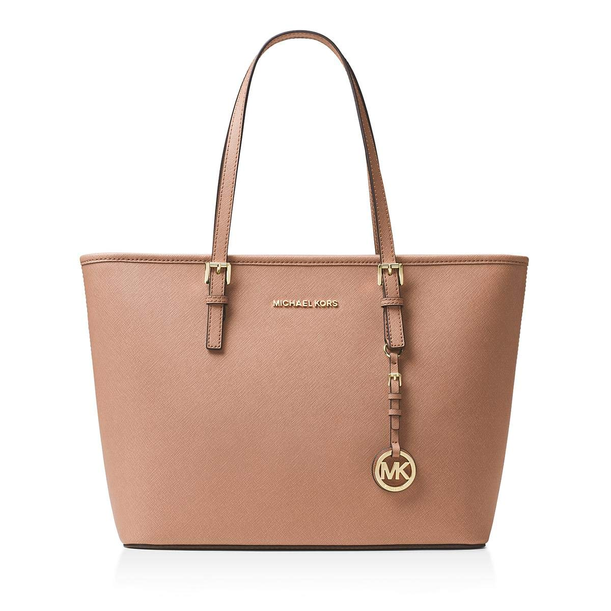 9907c71ee726 Amazon.com  Michael kors Jet Set Travel Top Zip toe in Blush.  Shoes