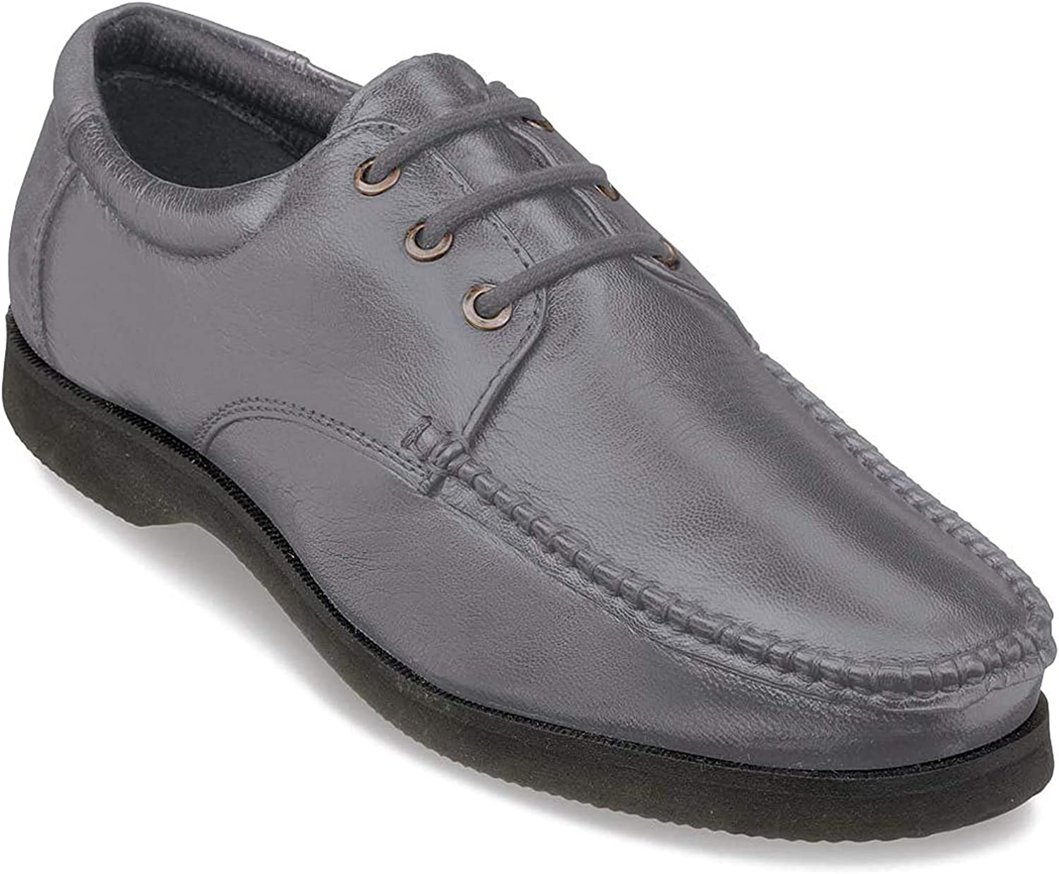 Mens Shoes Wide Fit Leather Lace Up
