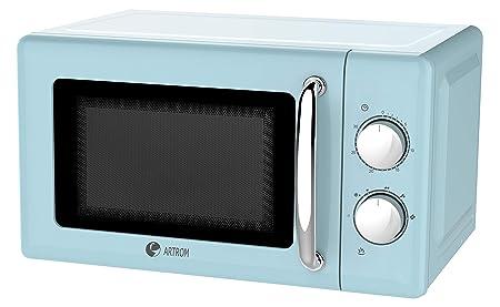 Microondas vintage básico colores pastel (Azul pastel ...