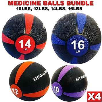 Balón medicinal de entrenamiento de fuerza Fitness entrenamiento 8 ...