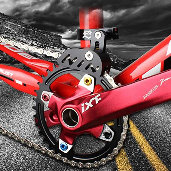 Bike Aluminum Single-disc Chain Guide Protector Mountain Bicycle Chain Tensioner