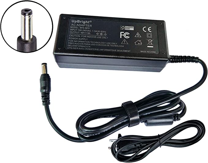UpBright AC//AC Adapter Replacement for ae ADAM Equipment 700400024 MCAC120015UA5 CQT DCT CPW Plus CPWplus 6 15 35 75 150 200 200M 200P 200W 200L P Series Balance Scale I.T.E Power Supply Cord Charger