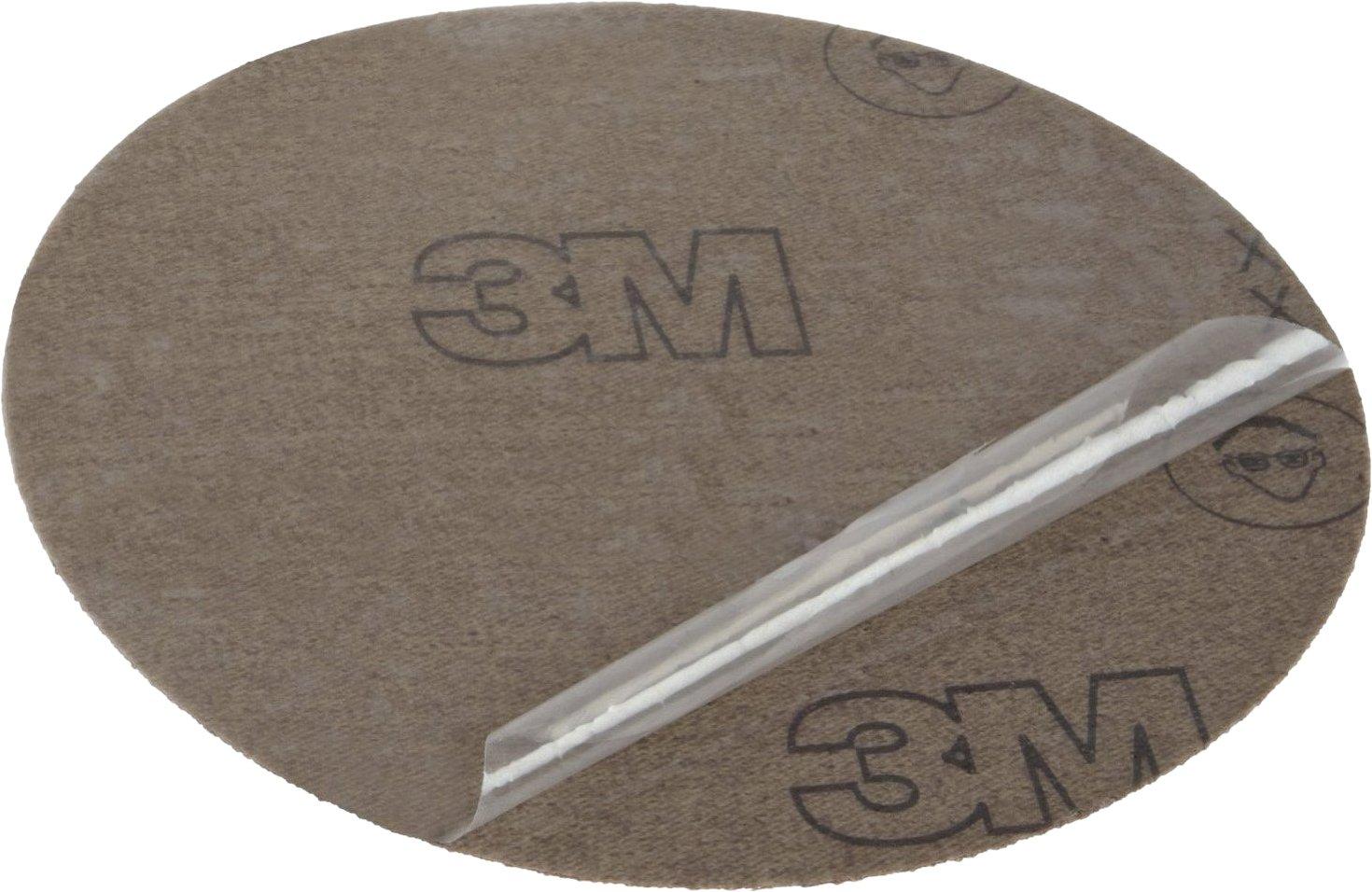 Die 500X 5 in x NH P180 X-weight 3M PSA Cloth Disc 348D