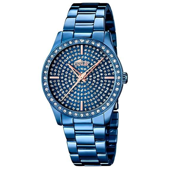 Lotus Reloj Analógico para Mujer de Cuarzo con Correa en Acero Inoxidable 18254/1: Lotus: Amazon.es: Relojes