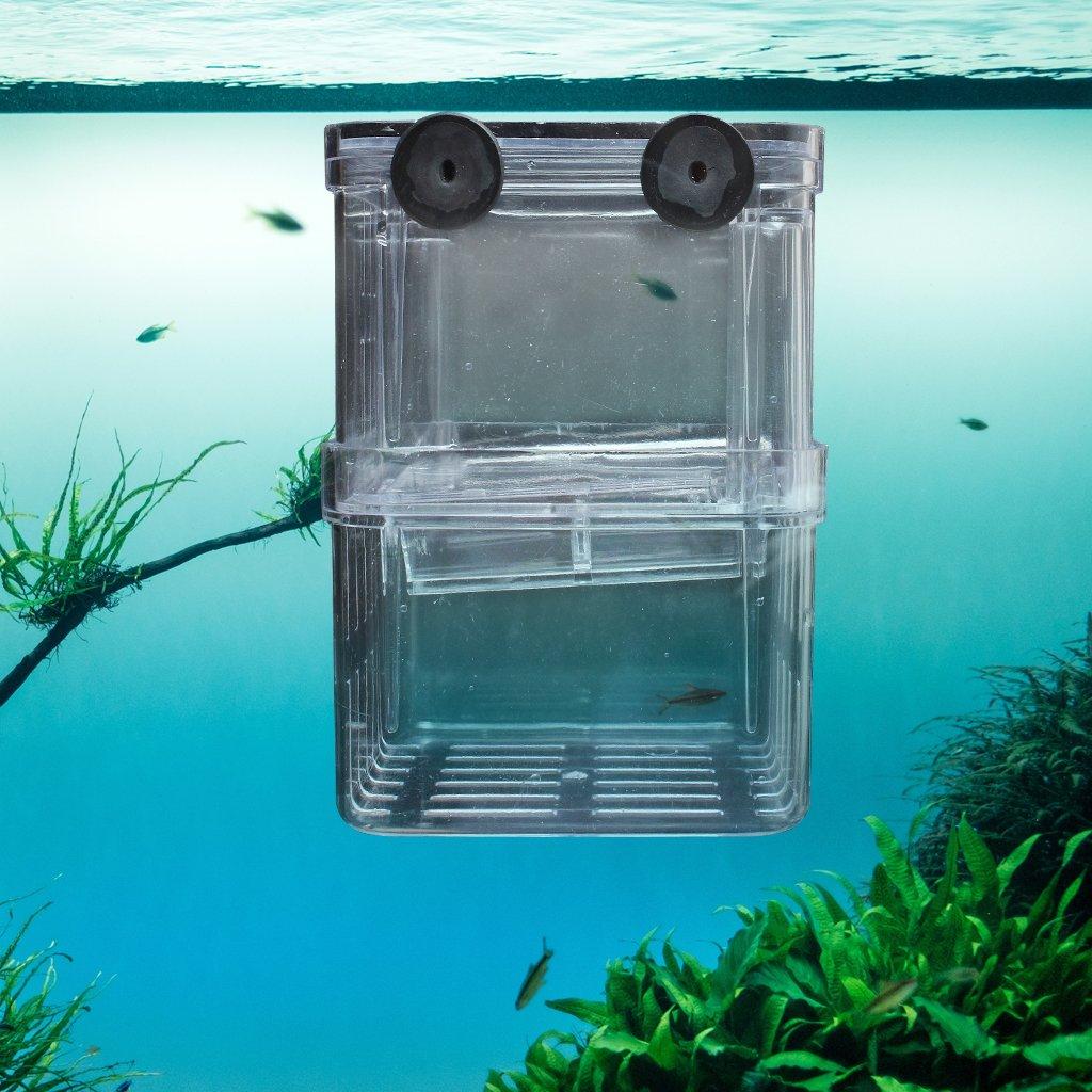 ETGtek(TM) 1pcs multifonctions poisson d'élevage Isolation Box Hanging Fish Tank Incubateur Aquarium Accessoire LEPEA4940