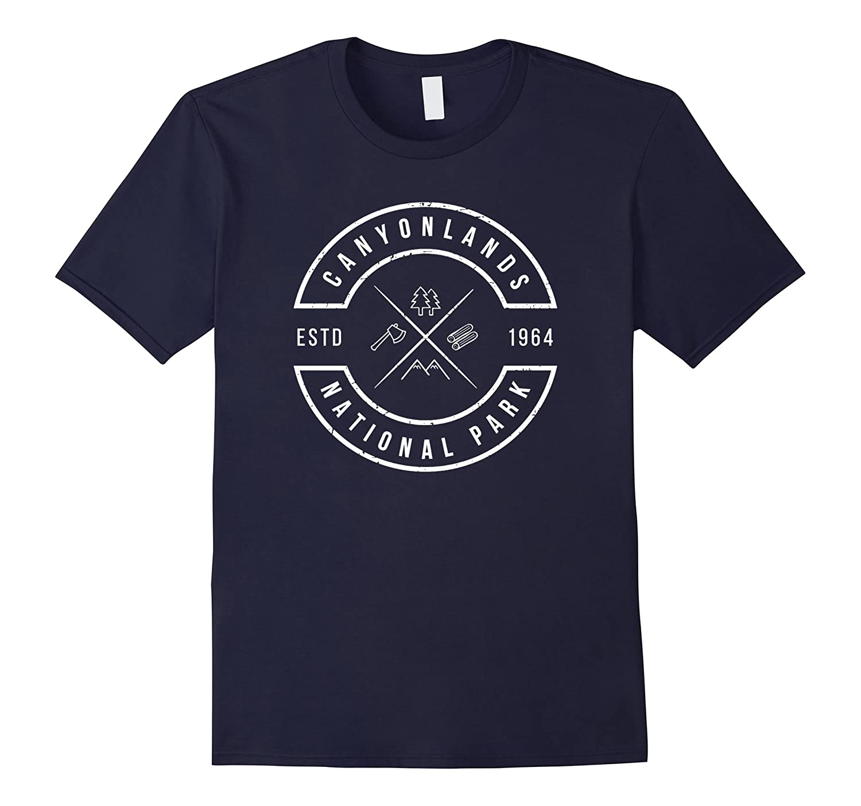 Canyonlands National Park T Shirt Utah Souvenirs UT Emblem-Vaci