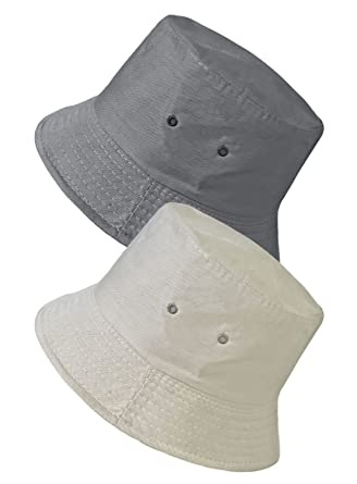 41baa391 TOSKATOK UPF 50+ Unisex Mens Womens Reversible Cotton Blend Summer Bucket/Bush  Hats-